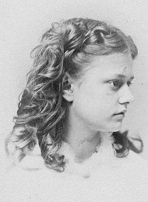 Mabel Loomis Todd - Mabel Loomis as a young girl, circa 1866