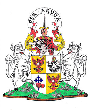 Clan MacIntyre - Image: Mac Intyre of Glenoe Arms of Clan Chief