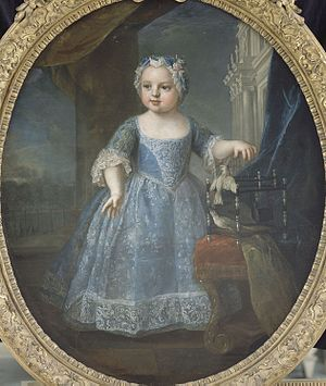 Marie Louise of France (1728–1733) - Image: Madame Troisième, Marie Louise de France, (1728 1733)