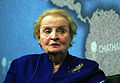 Madeleine Albright, US Secretary of State (1997-2001) (8662177571).jpg