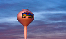 Mahtomedi Water Tower Sunset Minnesota 2201388568 o.jpg