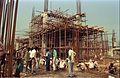 Main Auditorium Under Construction - Convention Centre Complex - Science City - Calcutta 1994-09-26 448.JPG