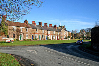 Sutton-on-the-Forest - Image: Main Street, Sutton on the Forest