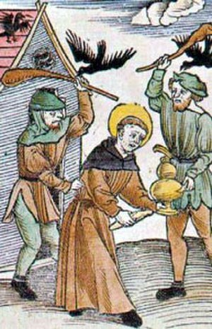 Meinrad of Einsiedeln - Image: Mainrado