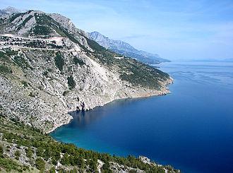 Mediterranean climate - Makarska in Dalmatia, Croatia