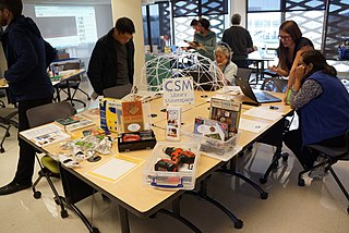 Library makerspace