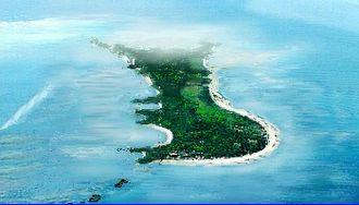 Daanbantayan - Image: Malapascua 1 Air View