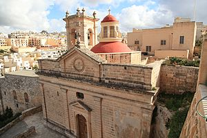 Sanctuary of Our Lady of Mellieħa - View of the Sanctuary