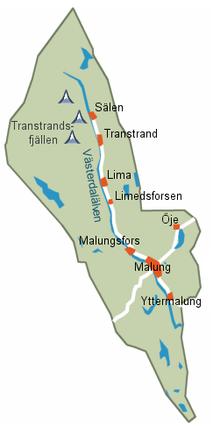 malung sverige kart Malung Sälen Municipality   Wikipedia malung sverige kart