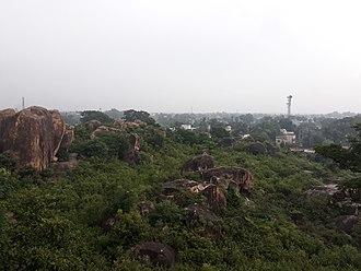 Birbhum district - Mama Bhagne Hills area in Birbhum