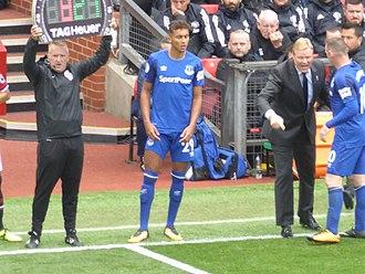 Dominic Calvert-Lewin - Calvert-Lewin in Everton colours, 2017
