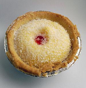 Manchester tart - Image: Manchester tart