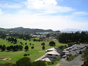 Mangawhai - View from an observation tower