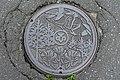 Manhole cover - Mutsu, Aomori - DSC00119.jpg