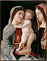 Mantegna (d'après) - La Vierge et l'enfant avec une sainte martyre.jpg