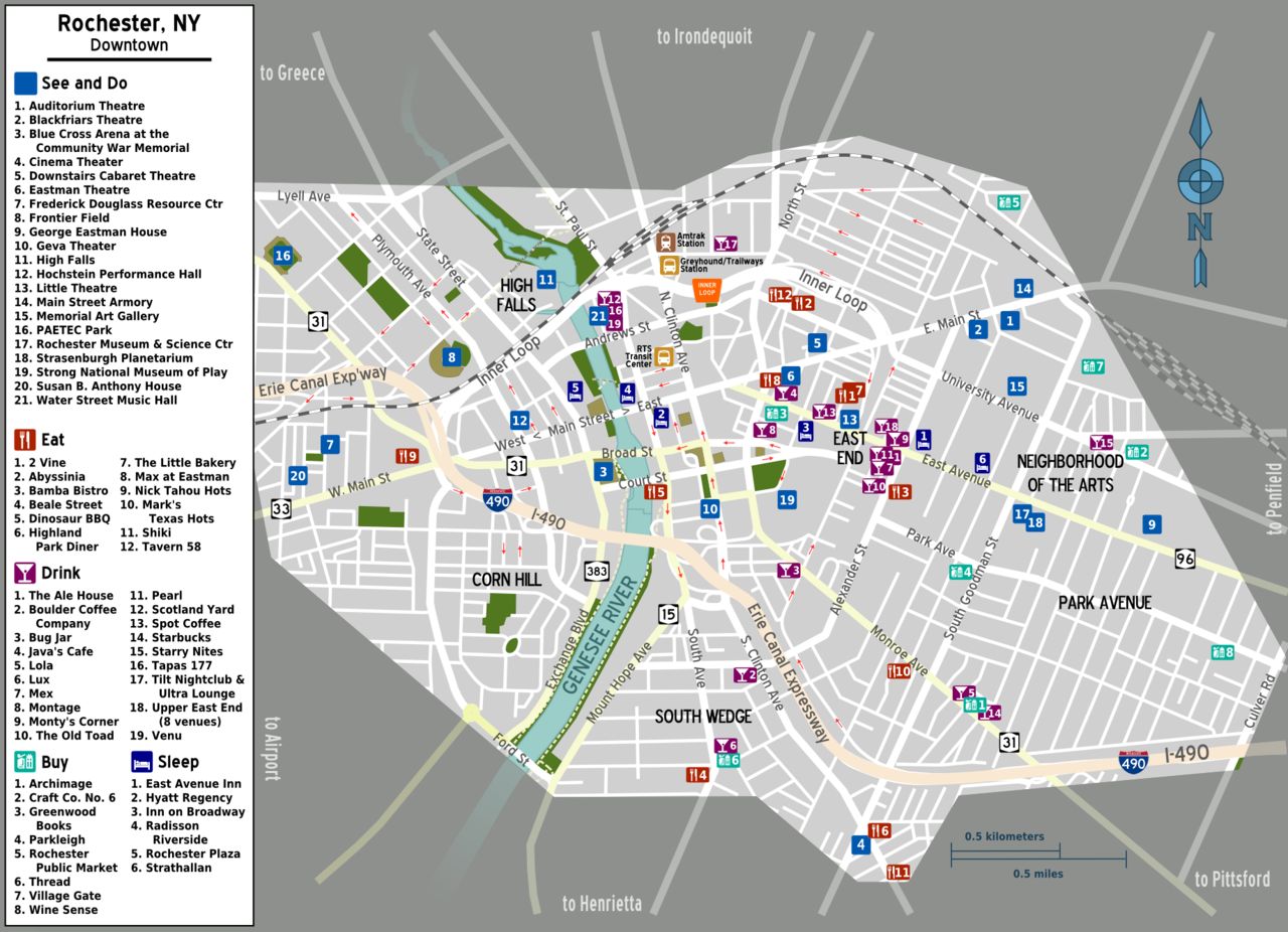 File:Map - Rochester NY Downtown - big icons.png - Wikimedia Commons