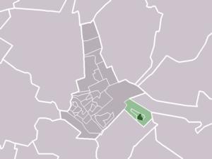 Austerlitz, Netherlands - Image: Map NL Zeist Austerlitz