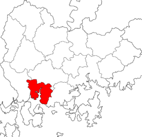 Location of Sacheon