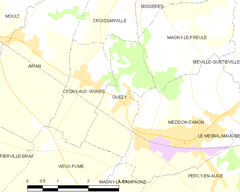 Map commune FR insee code 14482.png