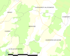 Map commune FR insee code 58009.png