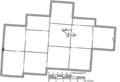 Map of Hocking County Ohio Highlighting Laurelville Village.png