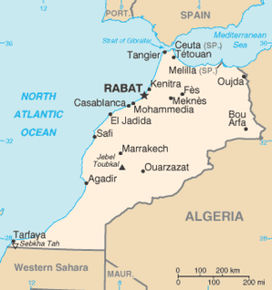 List of cities in Morocco - Wikipedia Casablanca Morocco Map on
