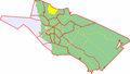 Map of Oulu highlighting Kuivasjarvi.png