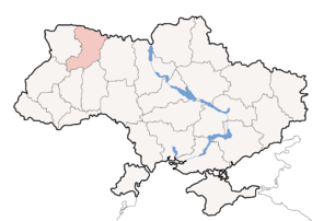 Map of Ukraine political simple Oblast Rivne.png
