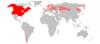 Mapa Neovison vison