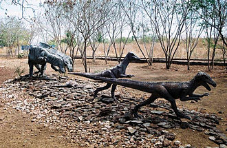 Valley of the Dinosaurs, Paraíba - Image: Maquete Dinossauros