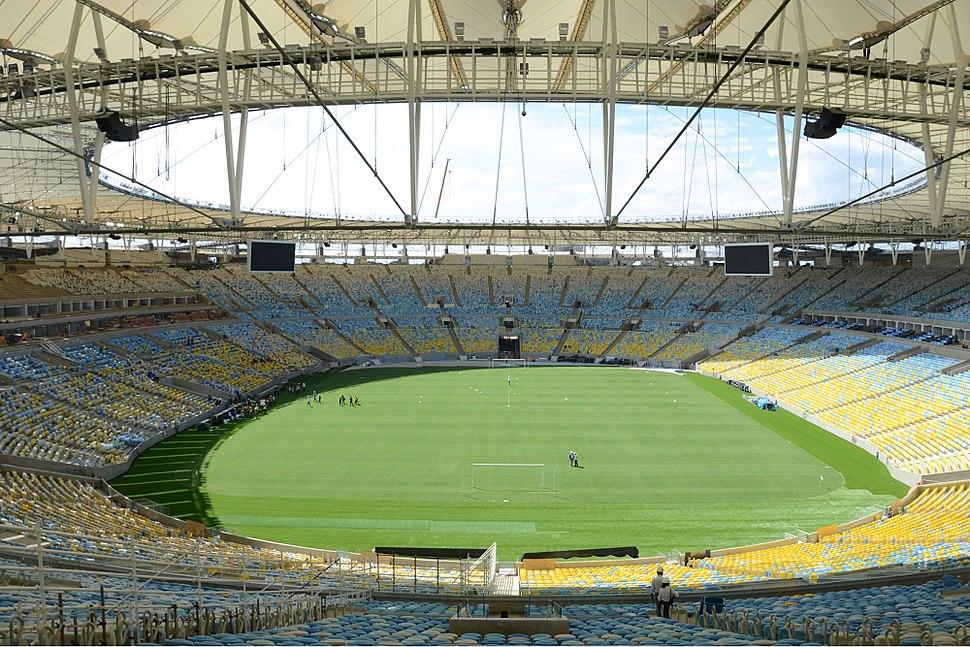 Maracana internal view april 2013