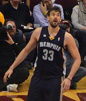 Memphis Grizzlies - Marc Gasol.