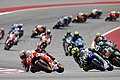 Marc Márquez leads the pack 2015 Austin.jpeg