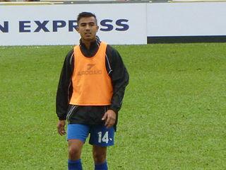 Marcus Lopez Guamanian footballer
