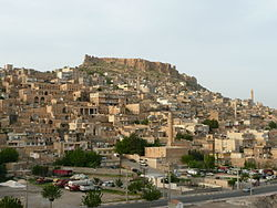 A antiga cidade de Mardin