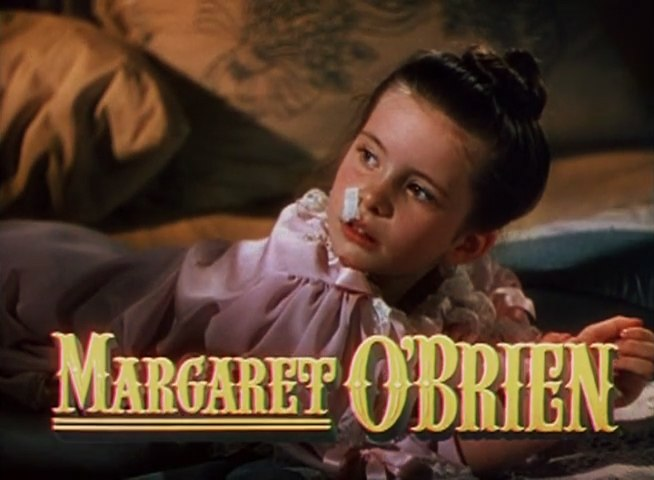 Margaret O'Brien in Meet Me in St Louis trailer