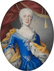 Portrait of Maria Amalia of Austria