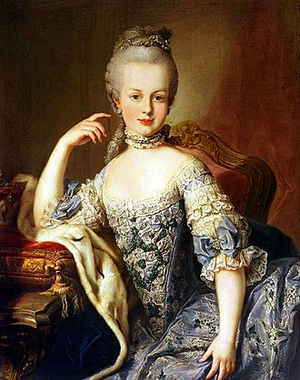 Martin van Meytens - Image: Maria Antoniette of Austria