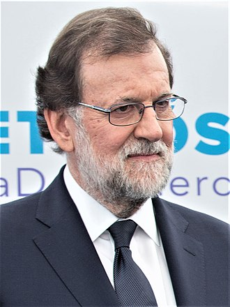 Prime Minister of Spain - Image: Mariano Rajoy 2017 (cropped 4x 3)
