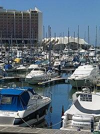 Vilamoura's marina.