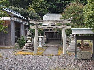 Tsuruga Domain - Mariyama Shrine, located on the site of Tsuruga jin'ya