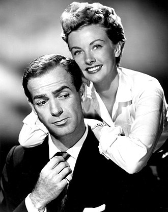 Big Town - Mark Stevens as Steve Wilson and Trudy Wroe as Lorelei Kilbourne (1954)