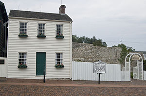 Hannibal, Missouri - Mark Twain's boyhood home in Hannibal