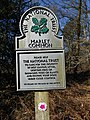 Marley Common National Trust sign, on Marley Heights.JPG