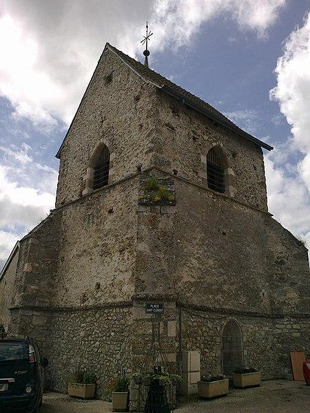 Marne Cormoyeux Eglise Saint-Clement Chevet 22062016