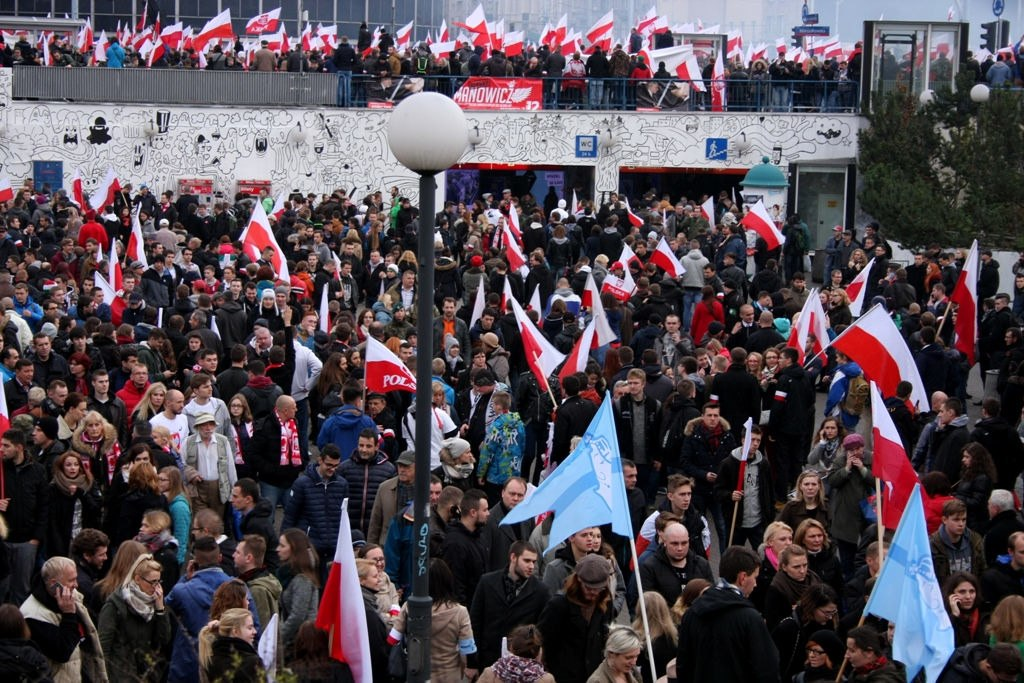 Marsz Niepodległości 2015 - 1