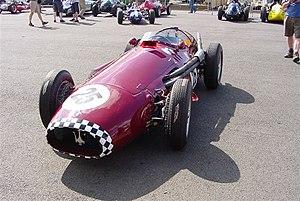 1959 Australian Grand Prix - A Maserati 250F, similar to the car driven to victory in the 1959 Australian Grand Prix by Stan Jones