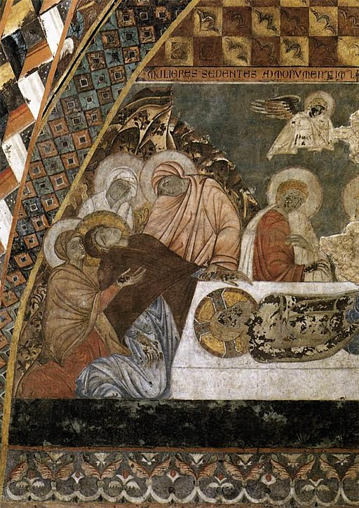 Master Of St Francis - Scenes from the Passion of Christ - Lamentation over the Dead Christ - WGA14502