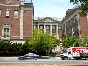 Philadelphia High School for Girls - The previous Girls' High campus, now Julia R. Masterman School, which housed the school from 1933 to 1958