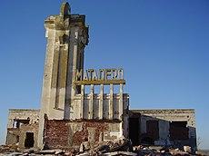 14 - Matadero de Epecuen en ruinas
